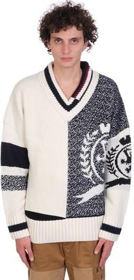 Tommy Hilfiger Knitwear In White Wool
