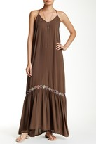 Love Stitch Tie-Back Triangle Maxi Dress