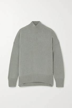 Allude Cashmere Sweater - Gray green