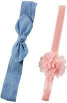 Carter's 2-Piece Headwraps
