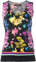 Roberto Cavalli knitted tank top - women - Silk/Cashmere/Wool - 42
