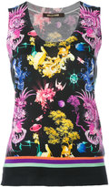 Roberto Cavalli knitted tank top - women - Silk/Cashmere/Wool - 46