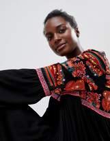 Raga Aviles Embroidered Tunic Dress