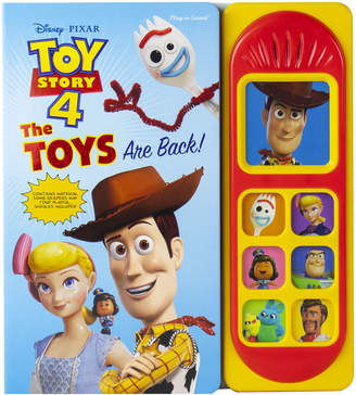 Toy Story No Toy Left Behind Play-a-Sound Book