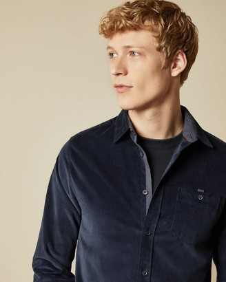 Ted Baker Long Sleeved Cord Shirt