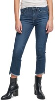 Thumbnail for your product : Silver Jeans Co. Fleet Step-Hem Kick-Cropped Jeans