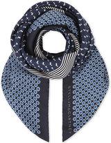 Stella McCartney Printed silk scarf