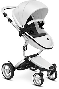 mima Xari Stroller with Silver Chassis
