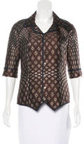 Undercover Button-Up Jacquard Jacket