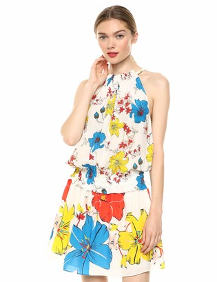 Ramy Brook Women's Floral Printed Holly Sleeveless Mini Dress