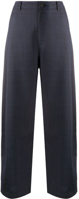 Henrik Vibskov Cropped Wide-Leg Trousers