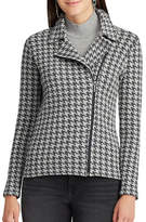 Chaps Petite Houndstooth Sweater