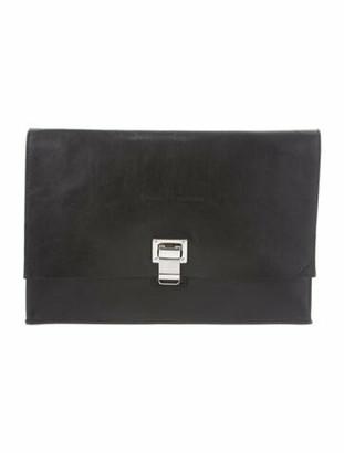 Proenza Schouler Lunch Bag Clutch Black
