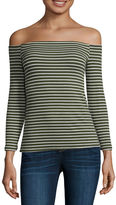 A.N.A a.n.a 3/4 Sleeve Boat Neck T-Shirt
