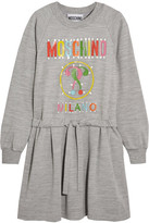 Moschino Printed Jersey Dress - Gray