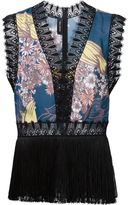 Yigal Azrouel blooming stargazer top