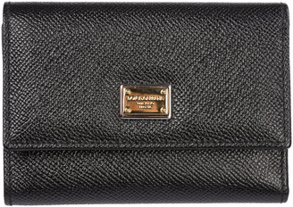 Dolce & Gabbana Wallet Genuine Leather Coin Case Holder Purse Card