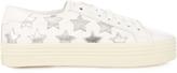 Saint Laurent Court Classic star-appliqué double-sole trainers