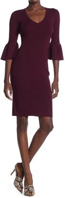 Trina Turk Blues Sweater Dress