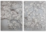 Graham & Brown Tranquil Orchid 2-Pc. Canvas Print Set