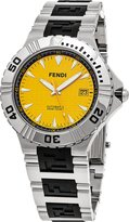 Fendi Men's F495150 Nautical Analog Display Swiss Automatic Silver Watch