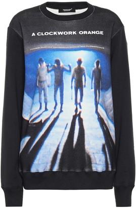 Undercover Printed cotton-jersey sweatshirt