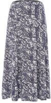Tigi Leaf All Over Print Skirt