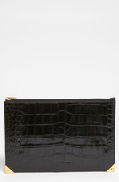 Alexander Wang 'Prisma' Embossed Leather Clutch