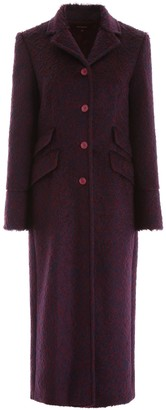 Sies Marjan Buttoned Long-Line Coat