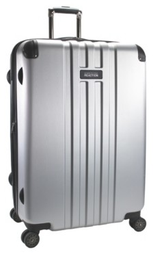 Kenneth Cole Reaction   Luggage Corner Guard 29-Inch Checked Hard Shell Luggage