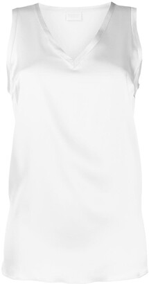 Brunello Cucinelli sleeveless V-neck tank top