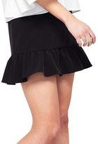 Miss Selfridge Ruffled Hem Skirt