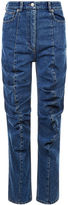 Y Project Blue Denim Gathered Front Jeans