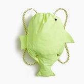 J.Crew Girls' drawstring fish backpack