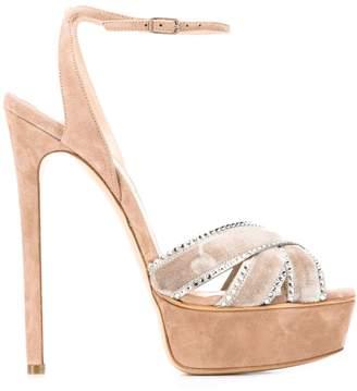 Casadei stiletto strappy sandals