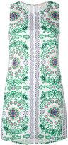 Tory Burch Garden Party print dress - women - Linen/Flax/Viscose - L