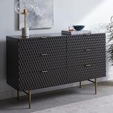 west elm Audrey 6-Drawer Dresser - Charcoal