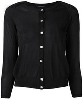 Roberto Collina fitted round neck cardigan - women - Polyester/Viscose - M