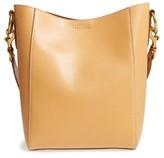 Frye Harness Leather Bucket Bag - Black