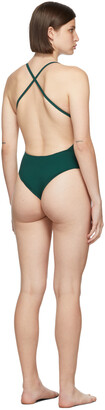 Lido Green Uno One-Piece Swimsuit