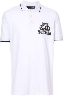 Love Moschino LOVE polo shirt