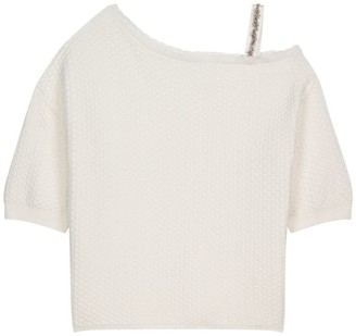 Claudie Pierlot One-Shoulder Sweater