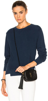 Mother Step Matchbox Sweatshirt in Blue.