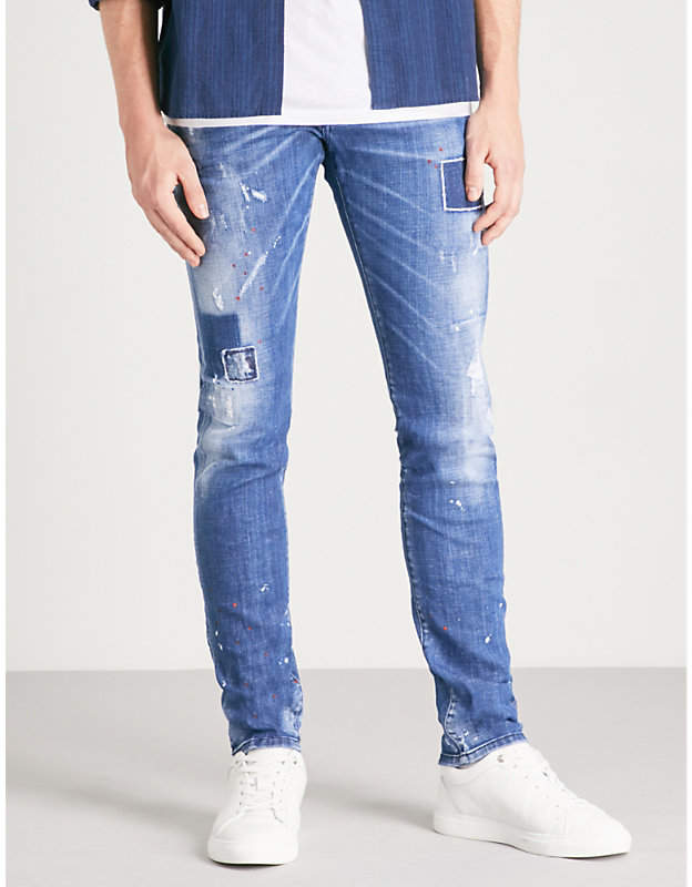 DSQUARED2 Cool Guy slim-fit distressed skinny jeans