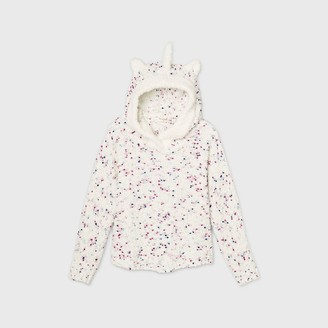 Cat & Jack Girls' Spotted Pullover Unicorn Poncho Sweater - Cat & JackTM
