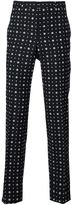 Givenchy mix print tailored trousers