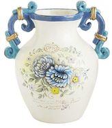 Pier 1 Imports French Fleur Bouquet Terracotta Vase