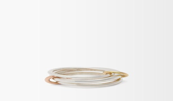 Spinelli Kilcollin Daphne 18kt Gold & Sterling Silver Ring - Silver