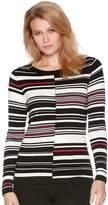 M&Co Petite cut about stripe jumper