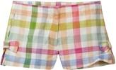 J.Crew J. Crew Mara Plaid Gauze Shorts (Little Girls & Big Girls)